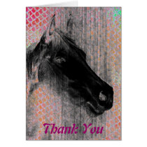 Equine 2, Thank You Card