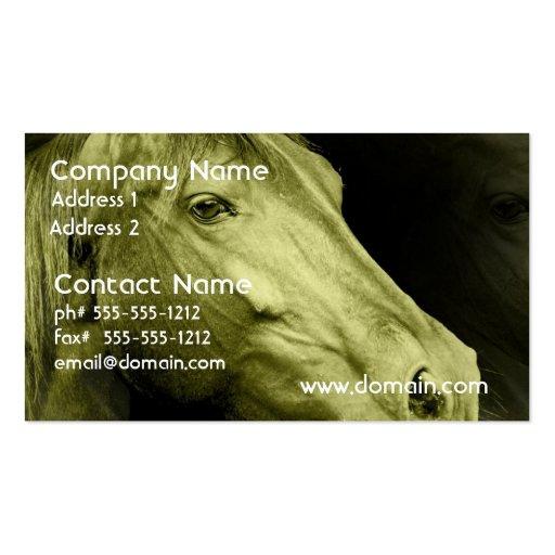 Equine Art  Business Card