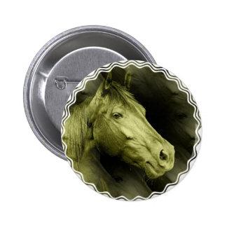 Equine Art  Button