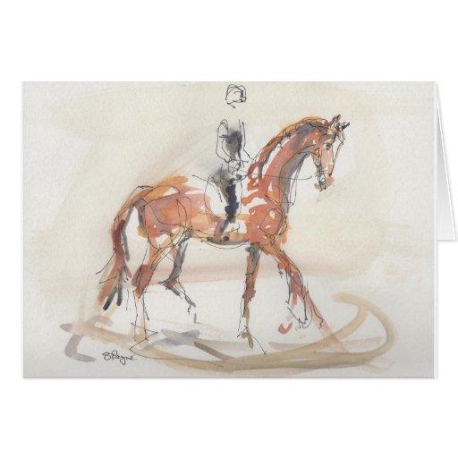 Equine Art Cards