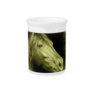Equine Art Pitcher