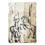 Equine Art Rearing Horses iPad Mini Case