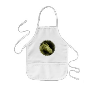 Equine Art  Small Apron