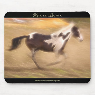 EQUINE Cantering Foal HORSE LOVER Mousepad