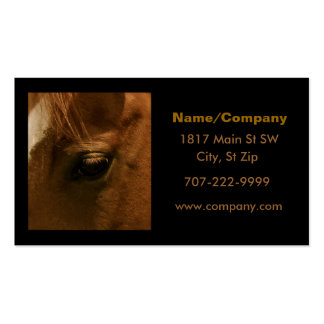 Equine Eye Business Card Template