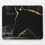 Equine Glow-Computer Mousepad