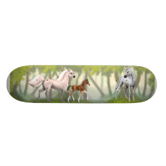 Equine Happy Family Skateboard