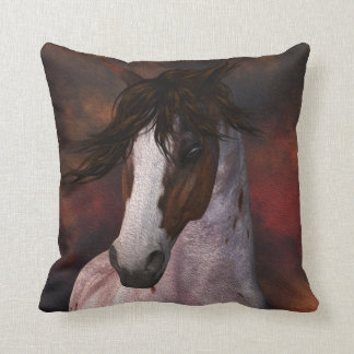 Equine Horse Portrait Cushion Pillow Gift