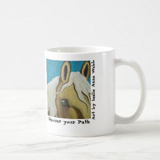 Equine horse promo mug for P.A.T.H.