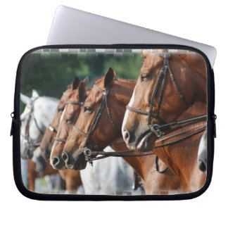 Equine Horse Show Electronics Bag Laptop Sleeve
