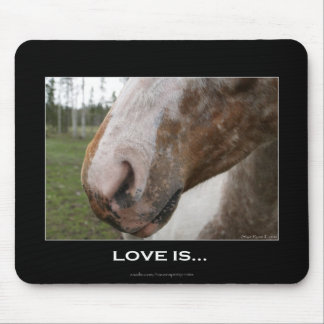 Equine-lover Horse Muzzle Mousepad
