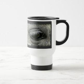 Equine-lover Horse s Eye Photo Travel Mug