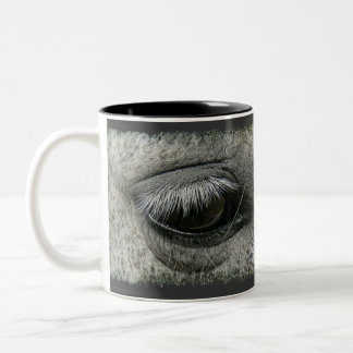 Equine-lover Horse's Eye Photo Coffee Mug
