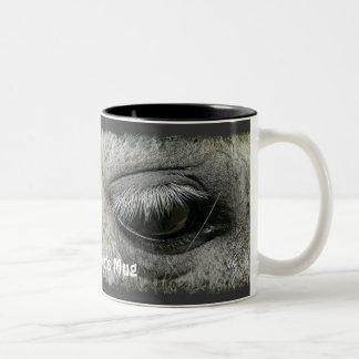 Equine-lover Horse's Eye Photo Drinking Mug
