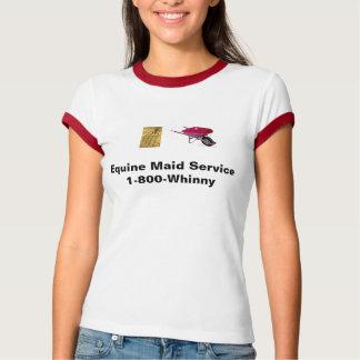 equine maid service t shirt
