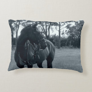 Equine moments accent pillow