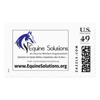 Equine Solutions Postage Stamps