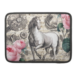 equine vintage music.jpg MacBook pro sleeve