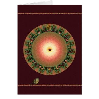 Equinoccio del otoño tarjeta de felicitación