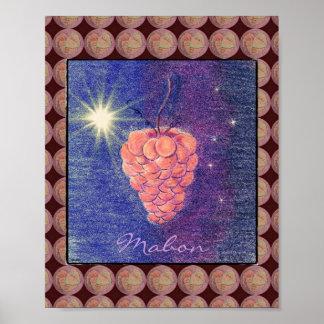 Equinoccio Mabon del otoño Poster