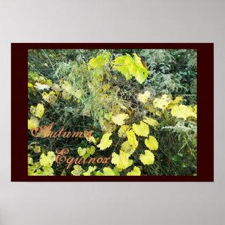 Equinoccio salvaje del otoño de Mabon Poster