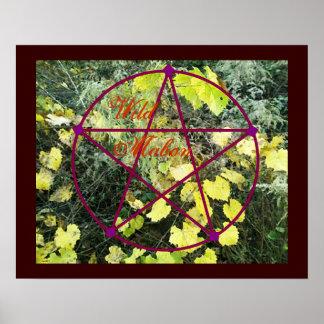 Equinoccio salvaje Pentacle* del otoño de Mabon Impresiones