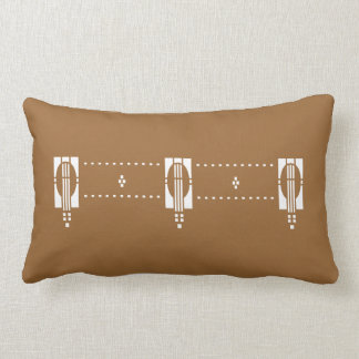 'Equinox' Arts & Crafts- Any Color! Throw Pillow
