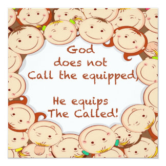 Equip The Called! Card