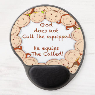Equip The Called! Gel Mouse Pad