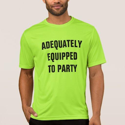 equipado camiseta