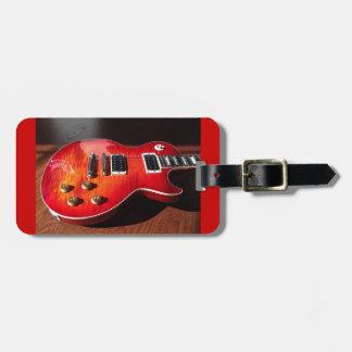 Equipaje de la guitarra eléctrica/etiqueta etiquetas de equipaje