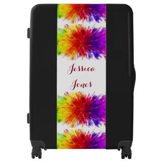 Equipaje multicolor del personalizable del maletas