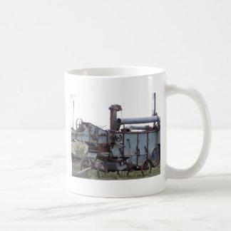 Equipamiento agrícola antiguo taza