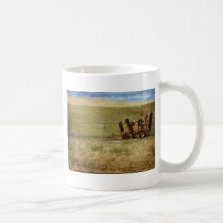 Equipamiento agrícola taza de café