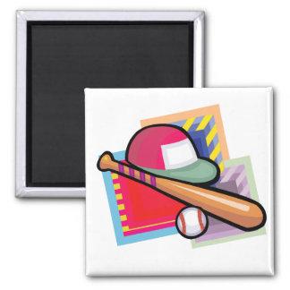 Equipment Baseball Magnet