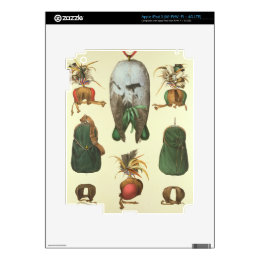 Equipment for Falconry, from 'Traite de Fauconneri Decal For iPad 3