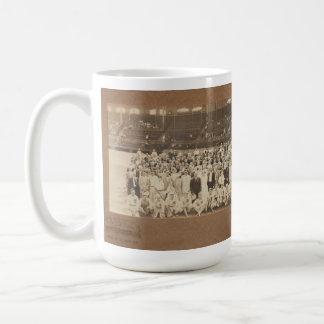 Equipo 1916 de Chicago White Sox Taza Básica Blanca