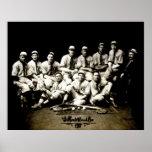 Equipo 1917 de béisbol posters