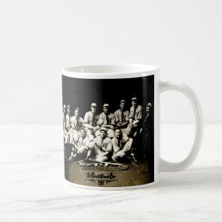 Equipo 1917 de béisbol tazas de café