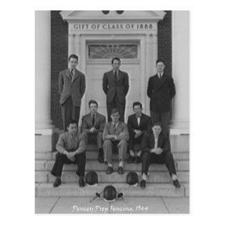 Equipo 1945 de cercado postales