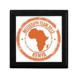 Equipo 2013 de Kenia de la CROMATOGRAFÍA GASEOSA Caja De Joyas