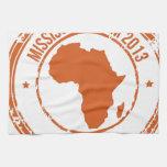 Equipo 2013 de Kenia de la CROMATOGRAFÍA GASEOSA Toallas De Cocina