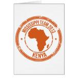 Equipo 2013 de Kenia de la CROMATOGRAFÍA GASEOSA Felicitacion