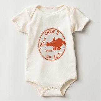 Equipo 2 de la escuadrilla de la escuadrilla del mamelucos de bebé