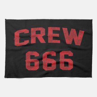 Equipo 666 toalla