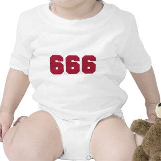 Equipo 666 traje de bebé