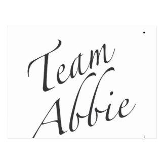 equipo Abbie Tarjetas Postales