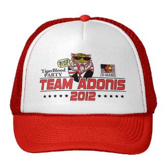Equipo Adonis 2012 Gorras