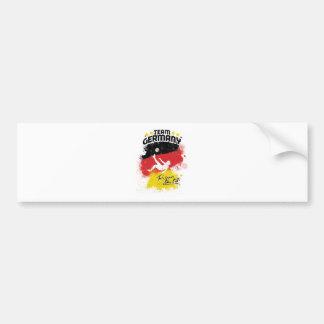equipo Alemania Pegatina Para Auto