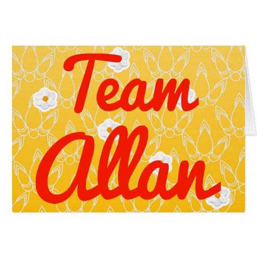 Equipo Allan Felicitacion